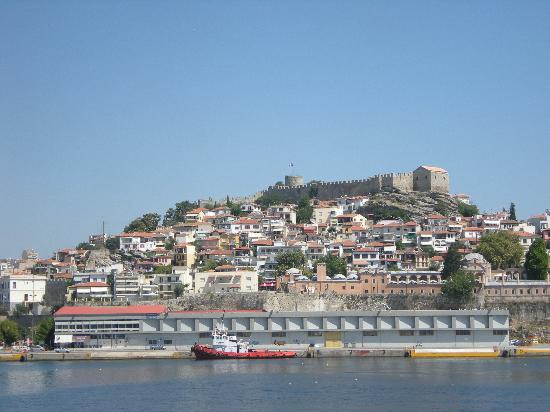 Kavala, Greece: View from the sea