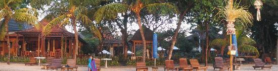Besakih Beach Hotel : Beach View of Besakih Hotel