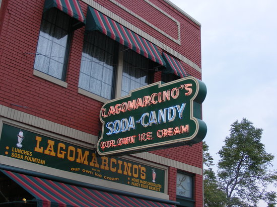 Lagomarcino's Confectionery: Worth a visit to downtown Moline...