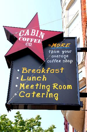 Cabin Coffee Co.: MORE than your average coffee shop!