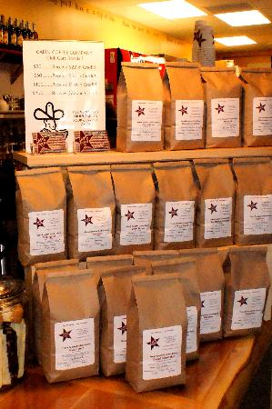 Cabin Coffee Co.: coffee beans roasted fresh on-site daily