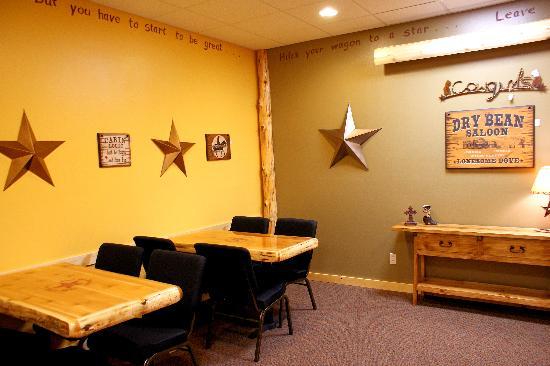 Cabin Coffee Co.: meeting room