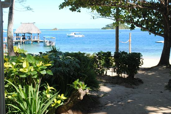 Malolo Island Resort: View from Family Bure #10