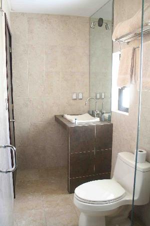 Terrasse Hotel: Baño