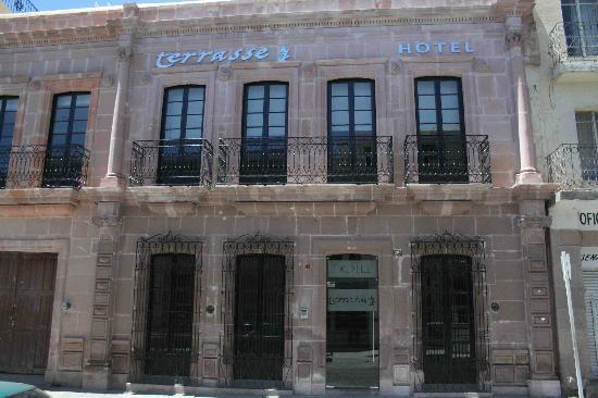 Terrasse Hotel: Fachada