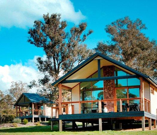 เยริ่งจอร์จคอทเทจ: Yarra Valley King Deluxe Cottage