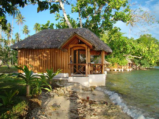 Oyster Island Resort: Bamboo bungalow