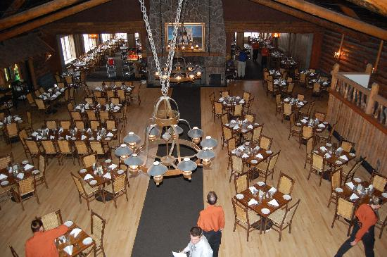 old faithful dining room - picture of old faithful inn