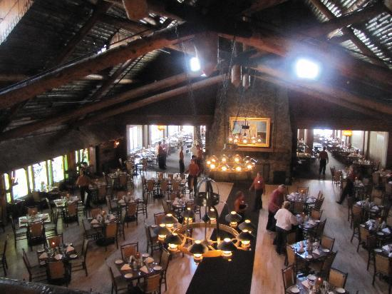 the dining room - picture of old faithful inn, yellowstone