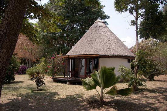 Speke Bay Lodge : Exterior of Rooms