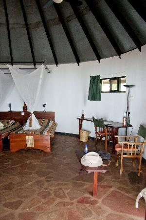 Speke Bay Lodge : Interior