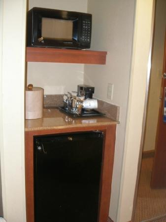 Hampton Inn & Suites Denver Downtown: Microwave and fridge in every room
