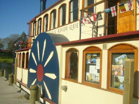 Marlborough's River Queen: Before we began the cruise