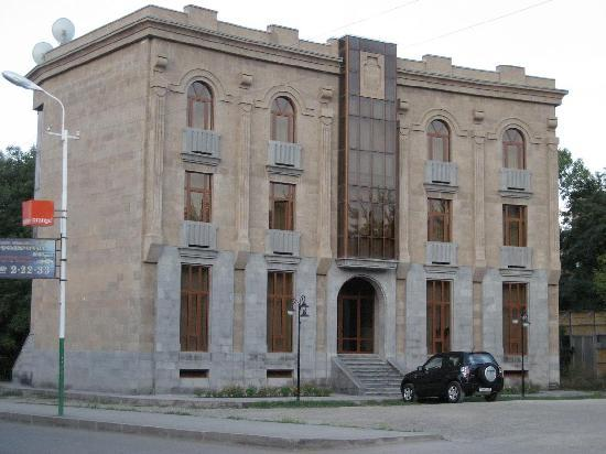 Yeghegnadzor, Armenia: Hotel general view