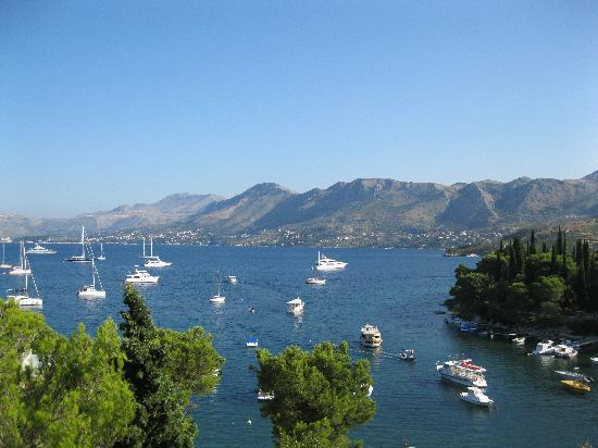 Hotel Cavtat: View from our room