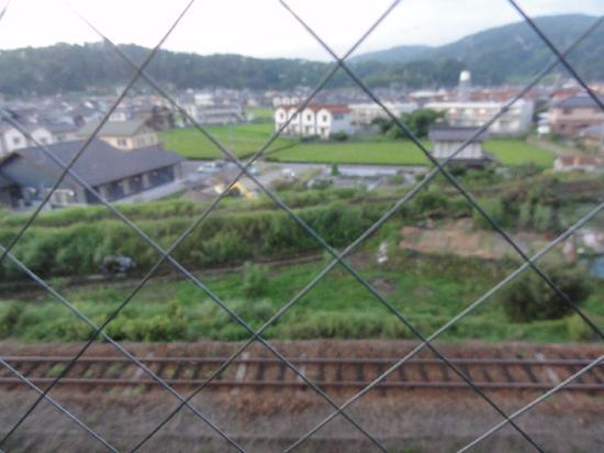 Hotel Alpha One Miyoshi: 部屋からの眺め