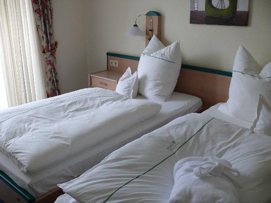 Beauty Cottage : Zimmer mit zwei Einzelbetten