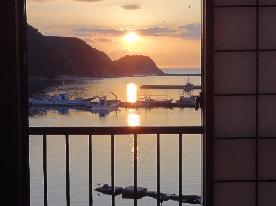 Asagiya: 部屋からの眺め