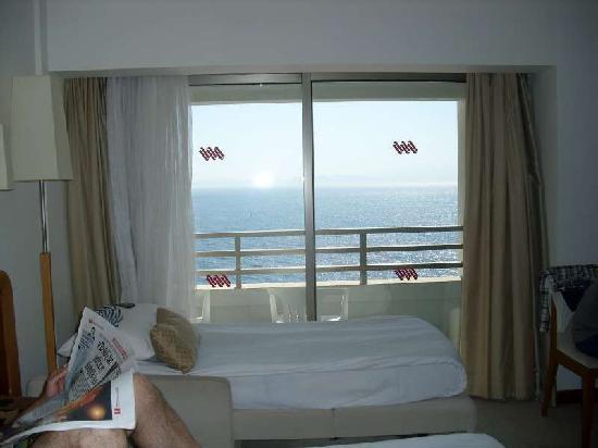 Korumar Hotel De Luxe: room seasight