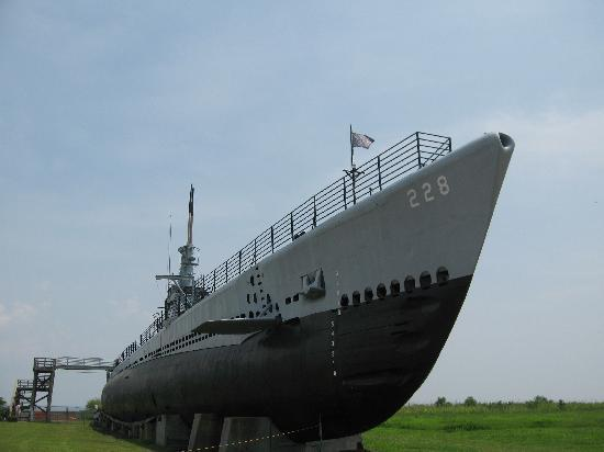 Uss Drum Submarine