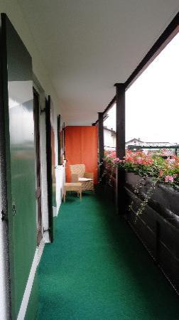 Alm- & Wellnesshotel Alpenhof: Balcon