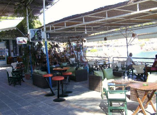 Hotel Restaurant Lefka Ori: lefka ori 'chill out' area