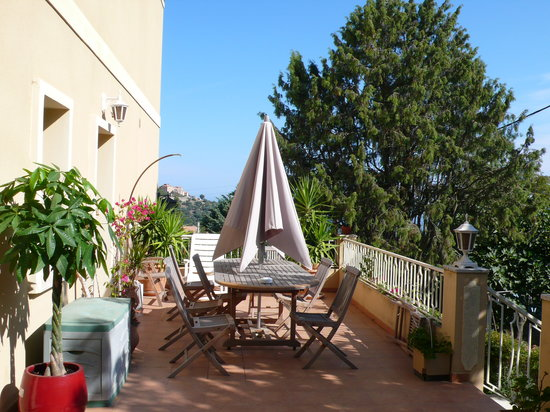 Casa San Ghjase : La terrasse