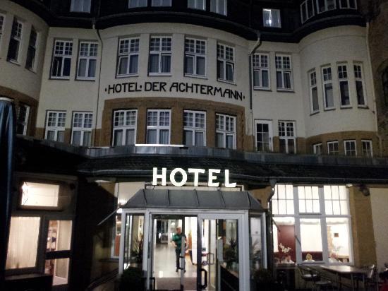 arriving achtermann late bild von hotel der. Black Bedroom Furniture Sets. Home Design Ideas