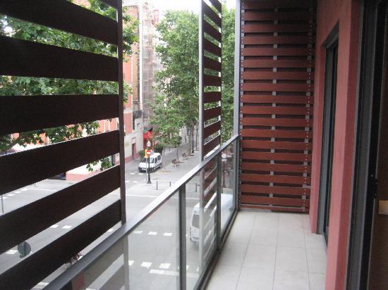 Lugaris Rambla: View from the balcony