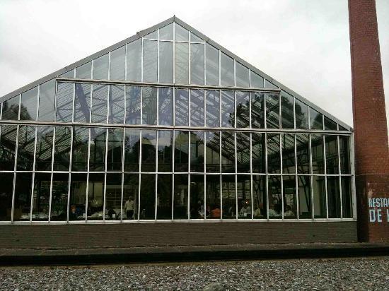 De Kas: outside view