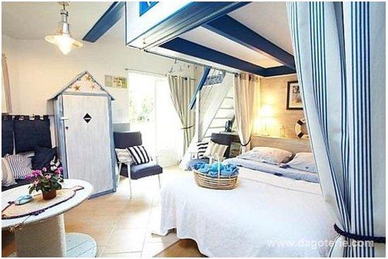 Talmont Saint Hilaire, France: Chambre d'hotes (Océan)