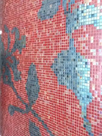 W Retreat Koh Samui: Shower Tiles