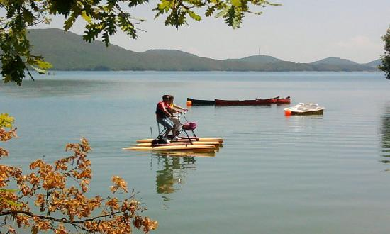 Krioneri, Yunanistan: Activities at Lake