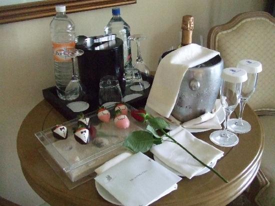 The Ritz-Carlton, Cancun: ウエルカムドリンク
