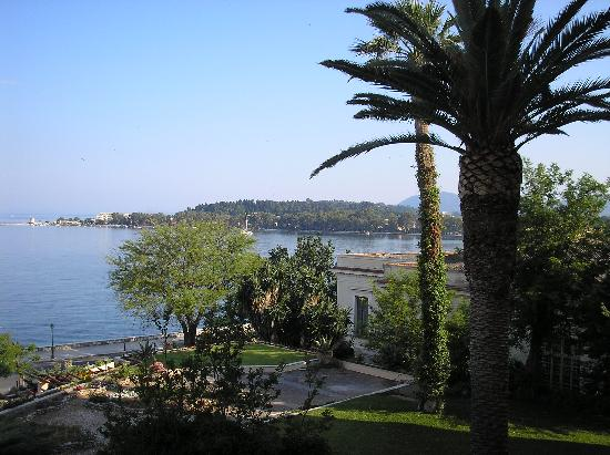 Corfu Palace Hotel : view from room
