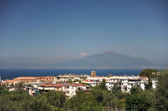 Hilton Sorrento Palace: View from the breakfast balcony