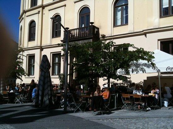 Cafe Tekehtopa : Seating outdoor