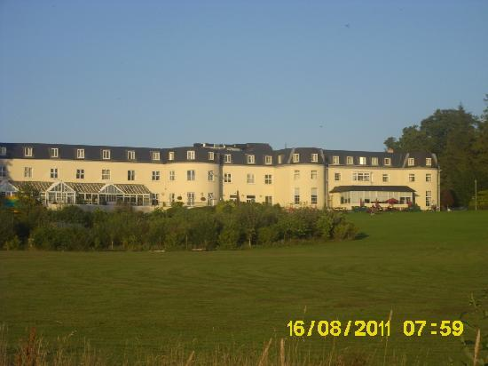 Bloomfield House Hotel, Leisure Club & Spa: view of hotel from walk to lake