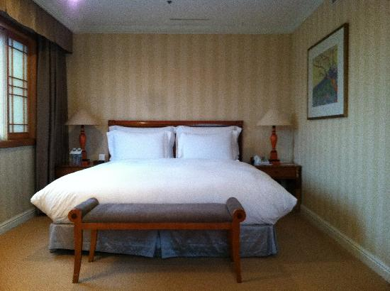 The Shilla Seoul: bedroom