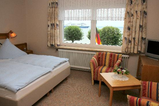 Laboe, Germany: Hotelzimmer