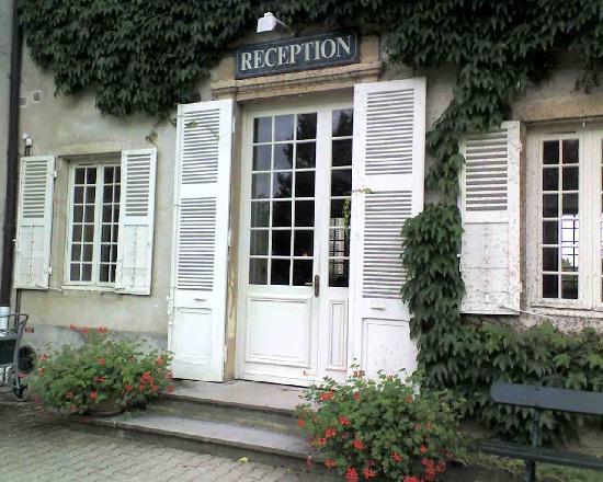 Chateau de Pizay: la reception