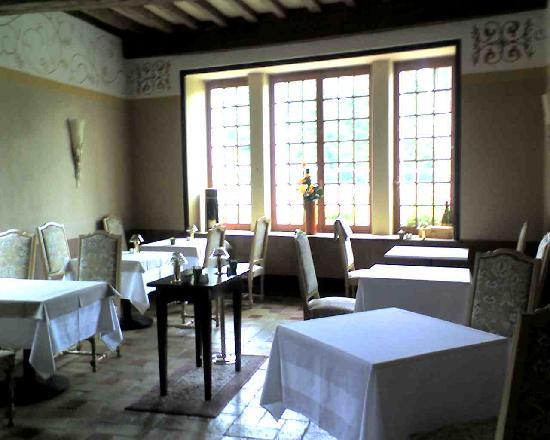 Chateau de Pizay: il ristorante