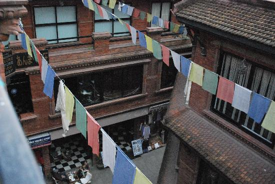 Kathmandu Resort Hotel: prayer flags