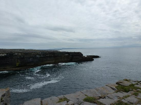 Seacrest: View from an old fort on Inismore