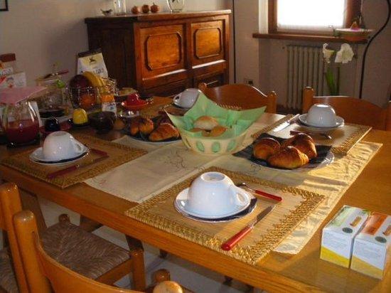 B&B La Casa di Paolo: italian breakfast
