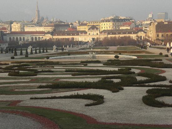 Wina, Austria: Belvedere Palace