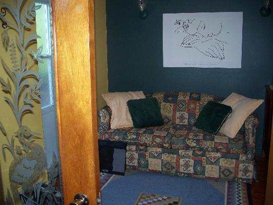 Au GitAnn B&B : Living room of the suite