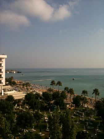 Iliada Beach Hotel: view from room 328 balcony