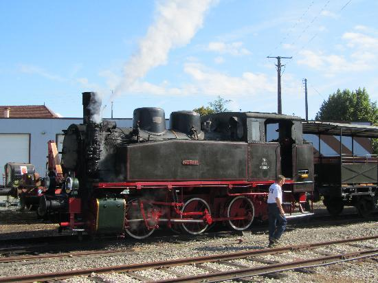 Martel, France: Train