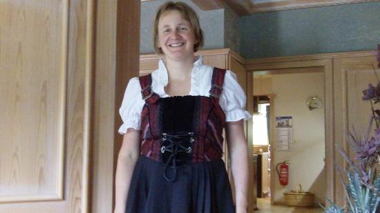 Hotel-Pension Cafe Schacher: Monika - owner/hostess/lovely person!